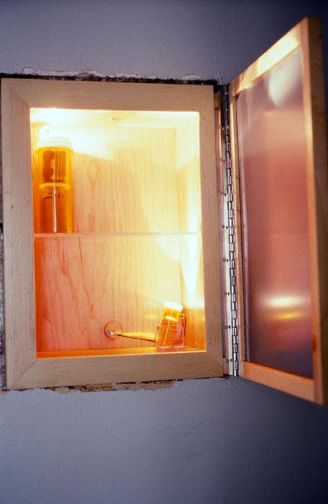 Medicine Cabinet Door Open Lucas Murgida